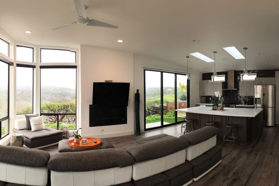 Open Concept Living Space Gallery